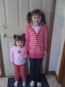 "Haley and Emily ""before"". Before seizures. Before seeing them didn't seem so hard. When it just came effortlessly."